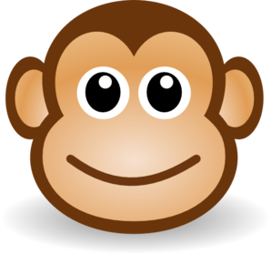 picture transparent stock Picture girly . Monkeys clipart baboon.
