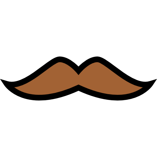 picture download Monocle clipart lip. Mustache streamline icon png.