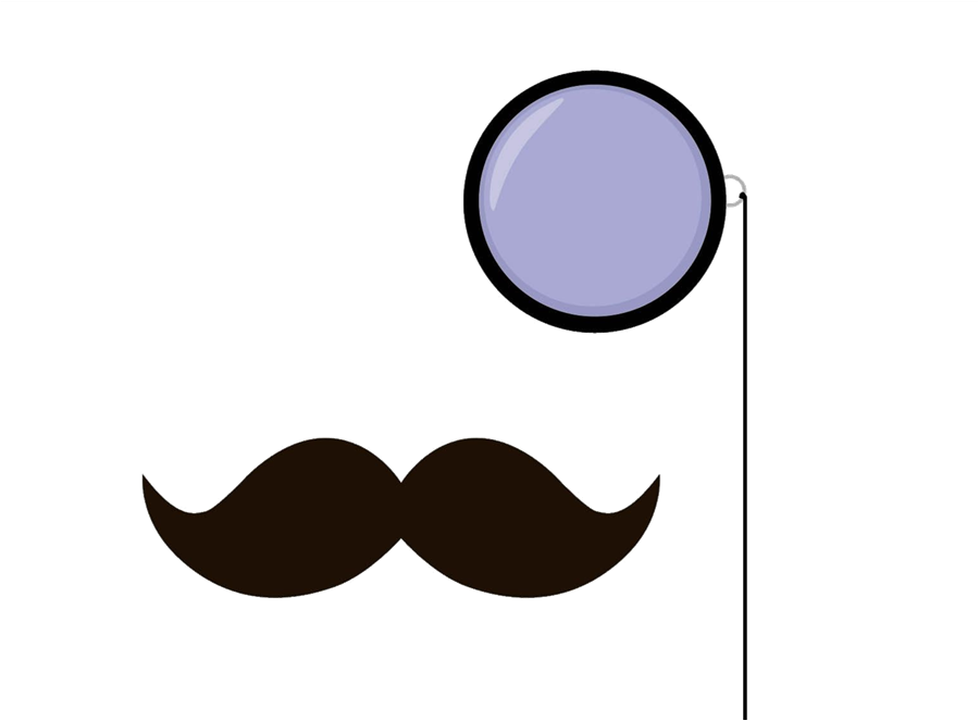 clipart freeuse library . Monocle clipart.