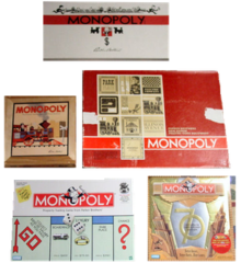 svg stock History of the board game Monopoly