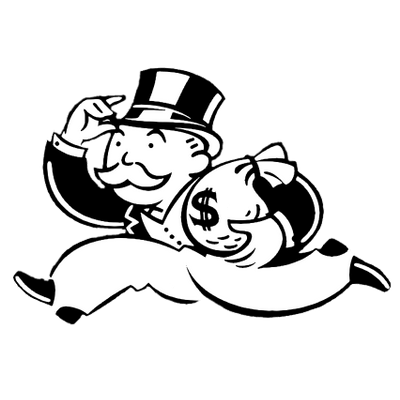 image freeuse stock Monopoly Banker transparent PNG