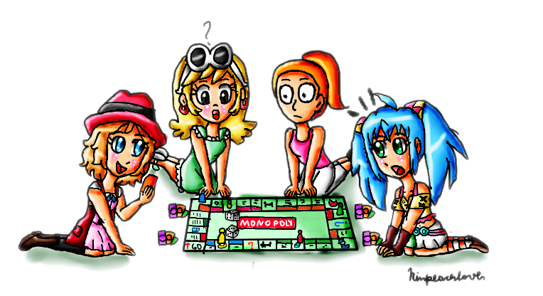 png download A Monopoly Macth With A Random Crossover by ninpeachlover on DeviantArt