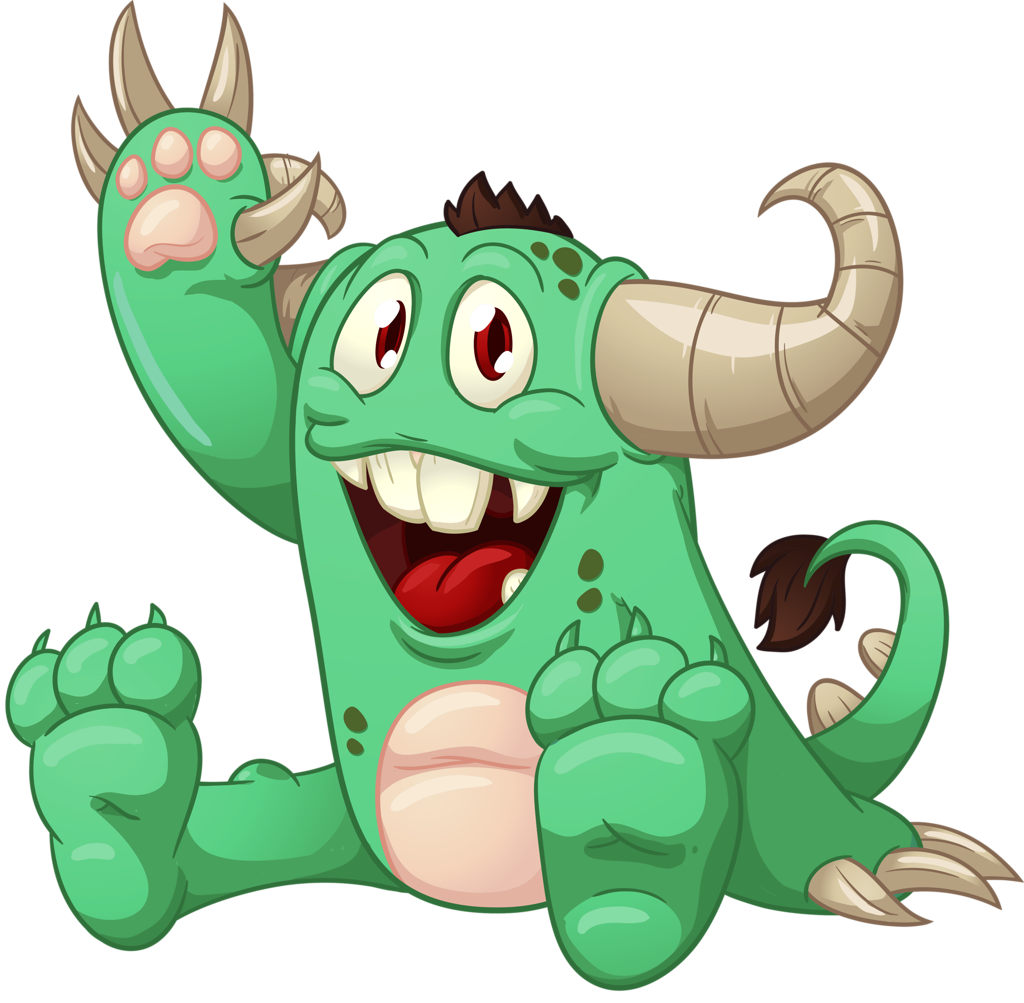 svg library stock Shutterstock png monsters robot. Monster clipart scared.