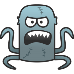 free library Monster clipart scared. Shocking afraid free on.