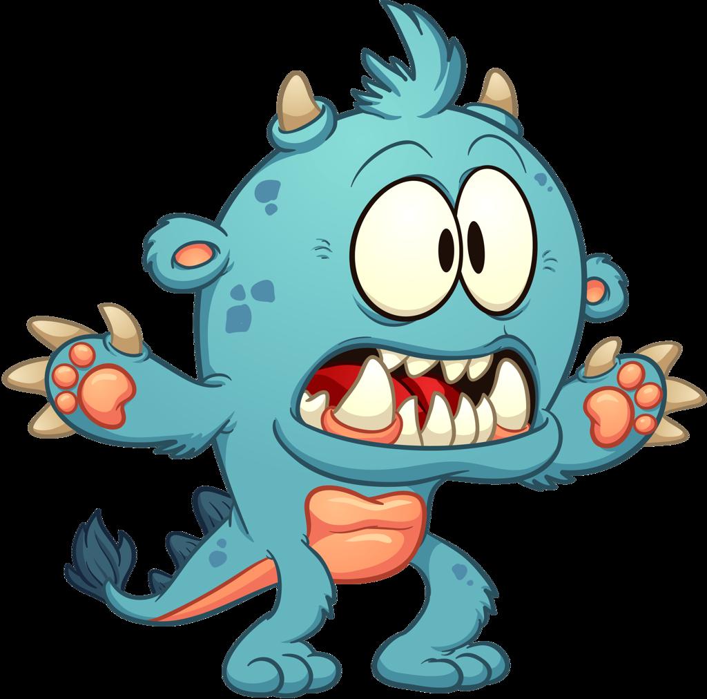 svg Monster clipart scared. Shutterstock png pinterest monsters.