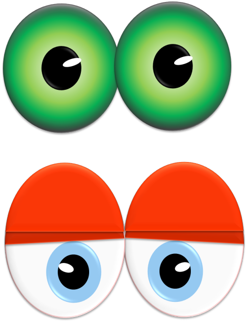 clipart freeuse download Throw a Monster Eyes Party