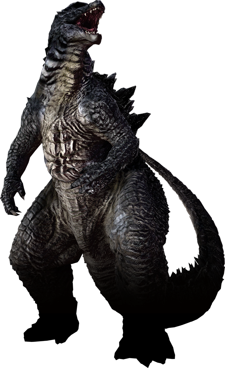 black and white monster transparent godzilla 2014 #99963343