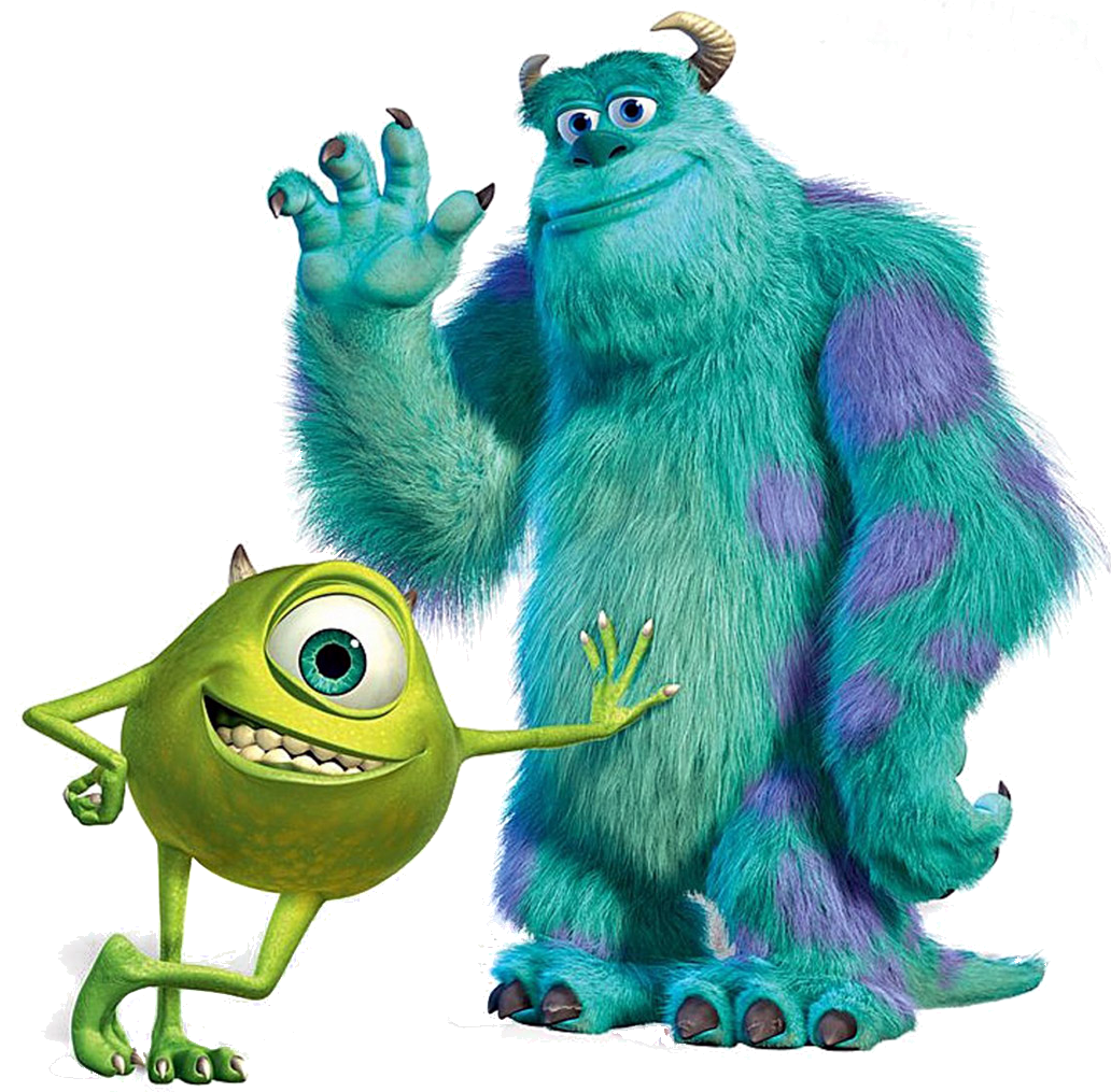 clip library library Monsters Inc Characters PNG Transparent Monsters Inc Characters