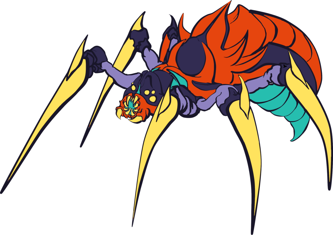 free library transparent spiders monster #106653833