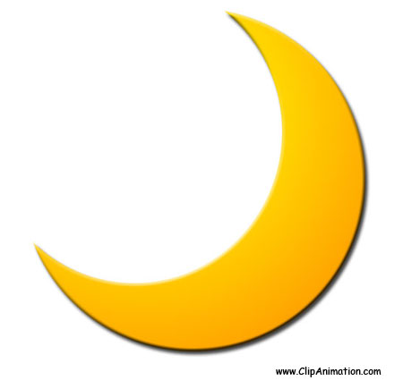 black and white Clip art free images. Moon clipart