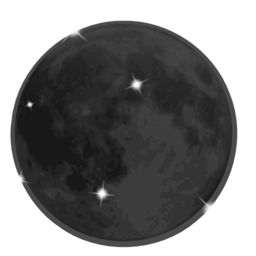 clip royalty free stock Moon clipart new moon. Weather icon i royalty.