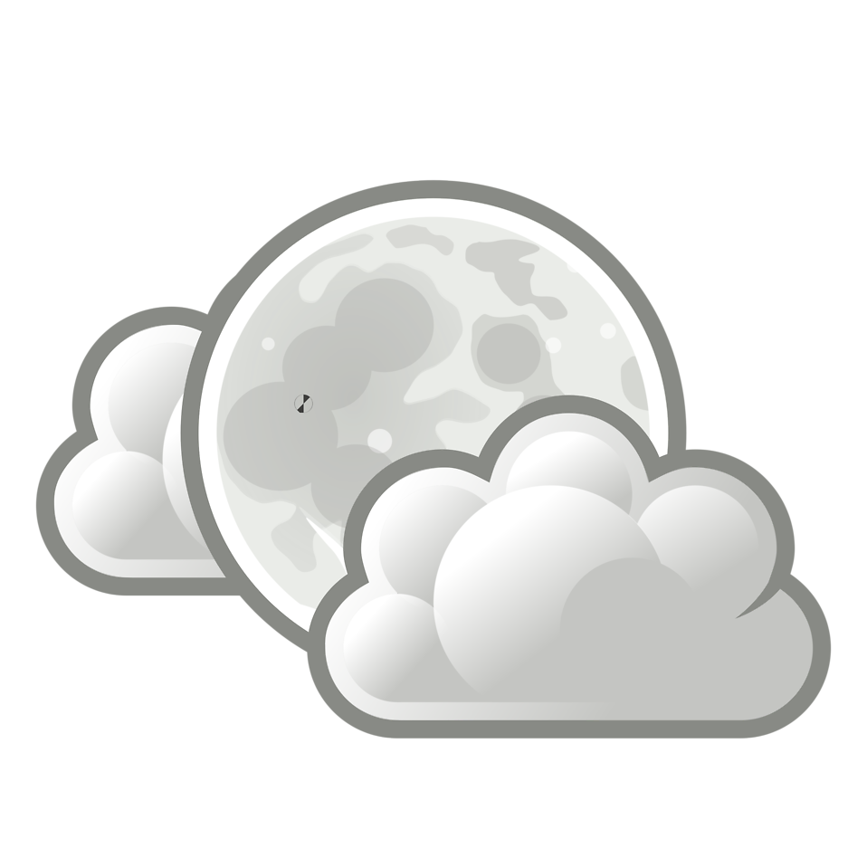 black and white download Full free on dumielauxepices. Moon clipart sky clipart.