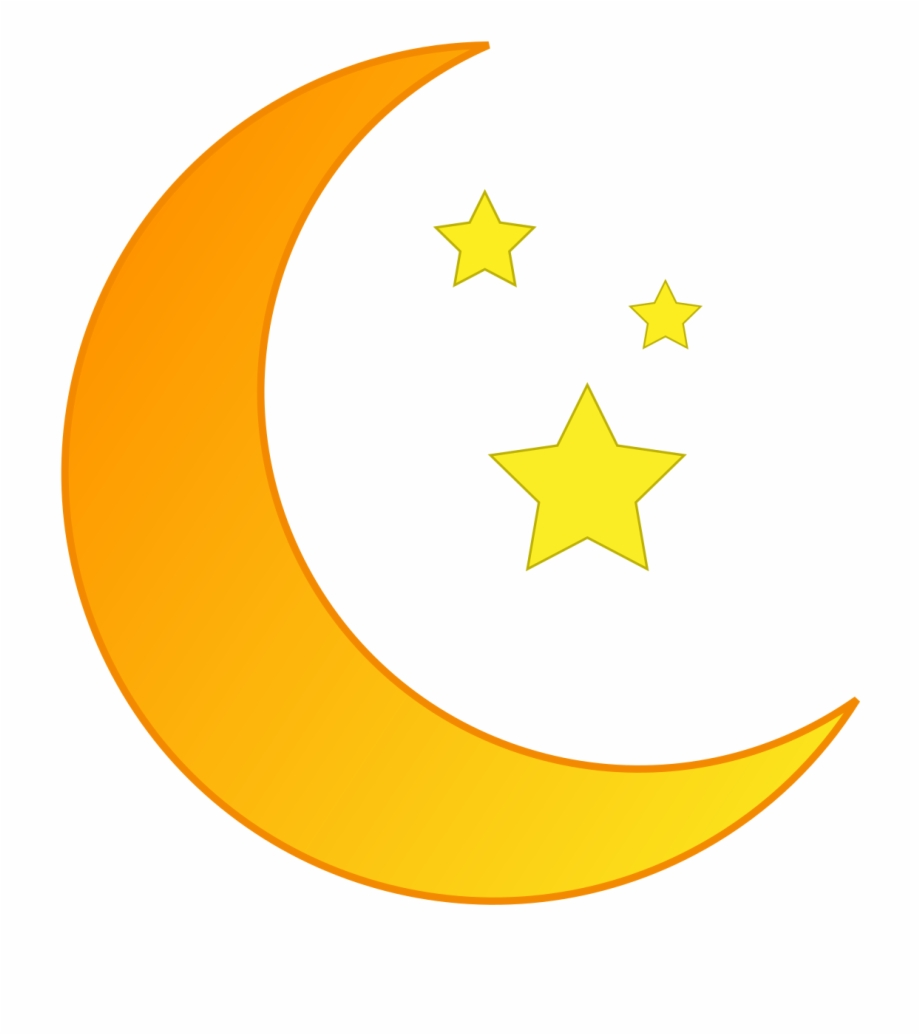 jpg transparent download And stars crescent png. Moon clipart transparent