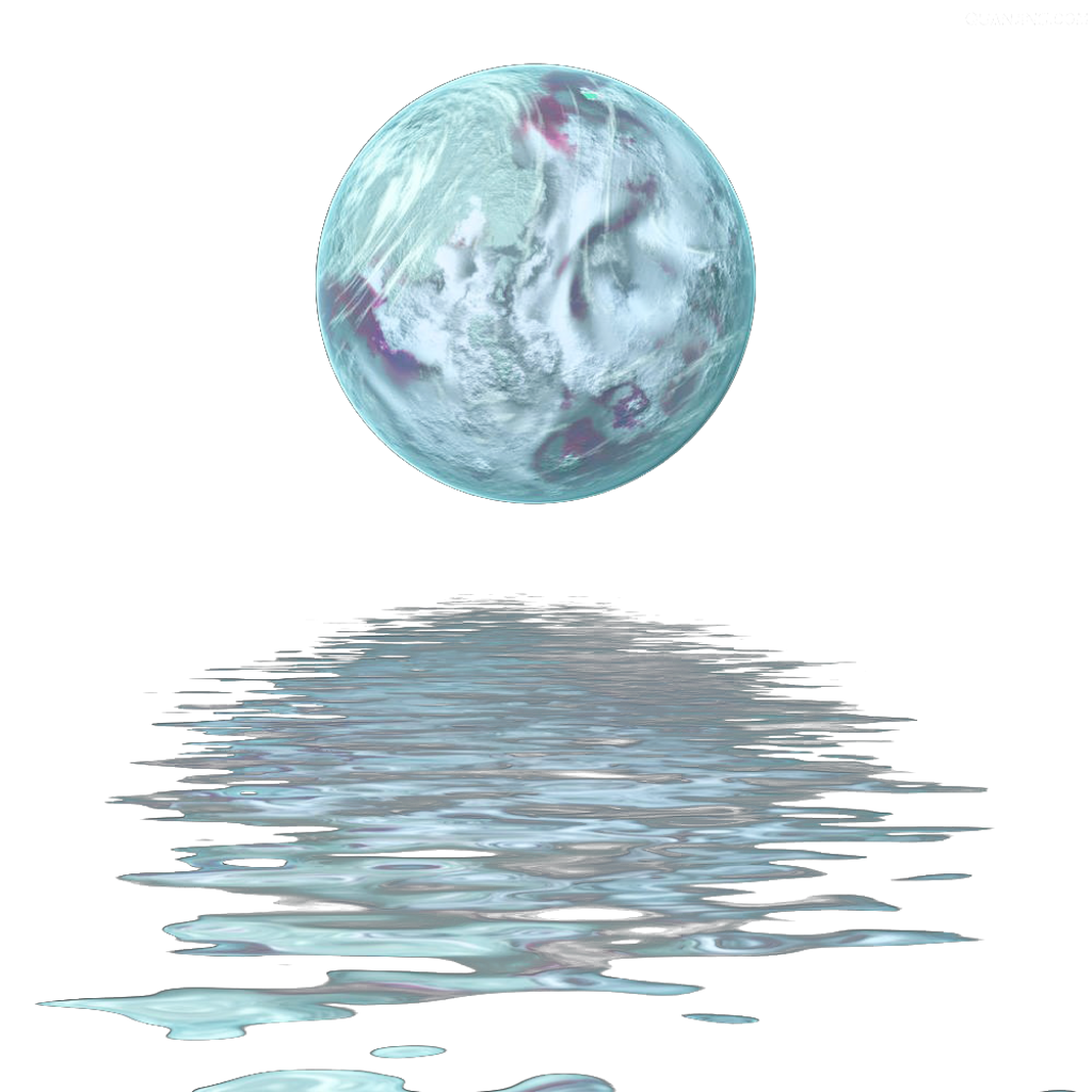 svg transparent ftestickers moon water reflection waterreflection moonl