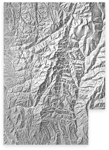 banner library stock Shaded Relief Archive