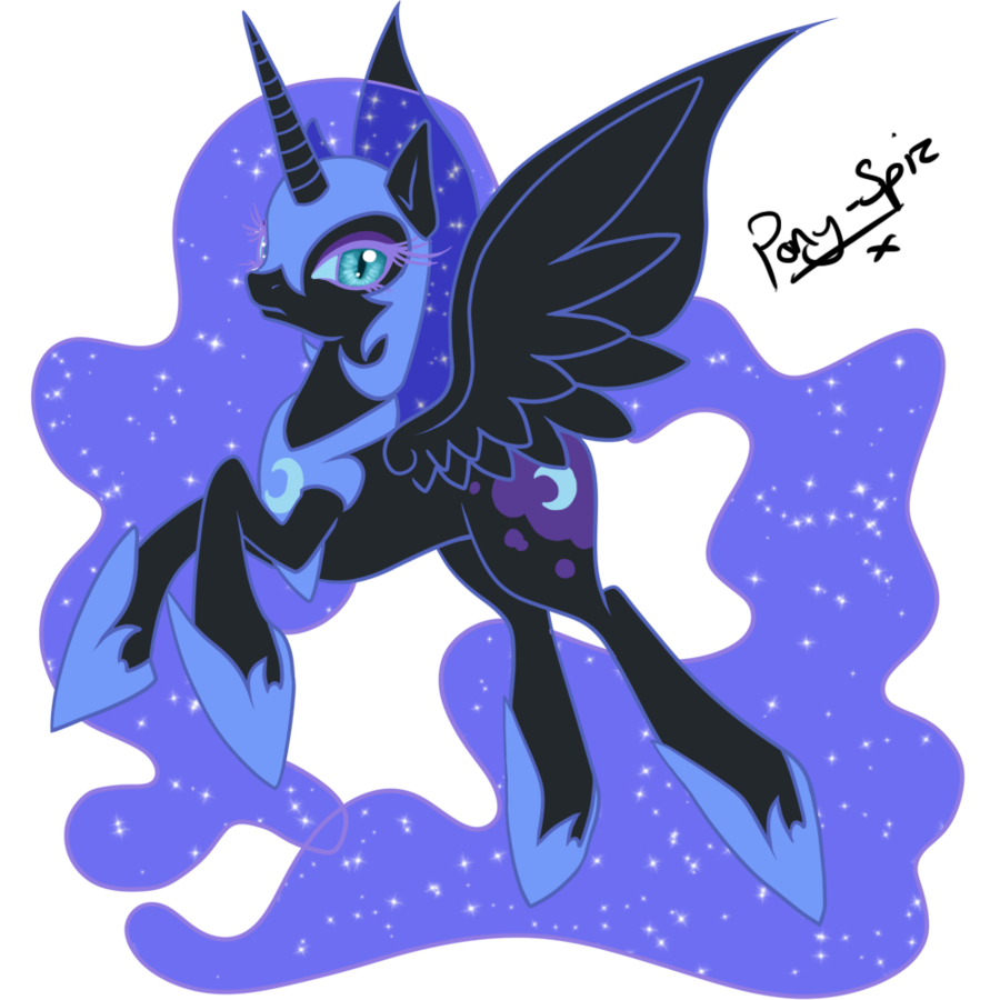 graphic transparent stock Nightmare Moon Drawing at GetDrawings