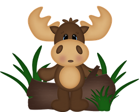 png library download Cartoon free download clip. Moose clipart.