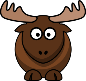 picture freeuse library Clip art at clker. Moose clipart.