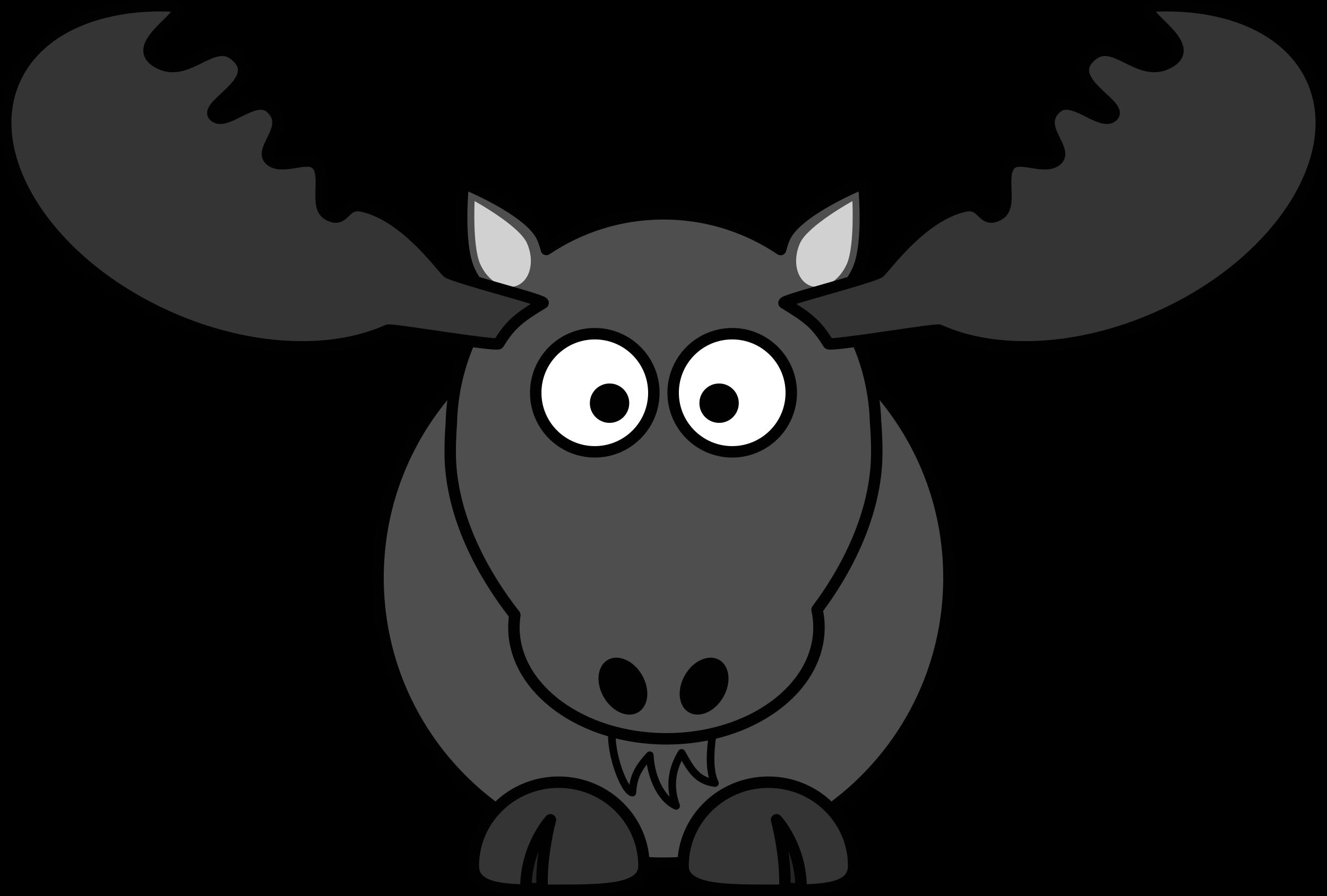 image free Moose clipart. Cartoon clipartblack com animal.
