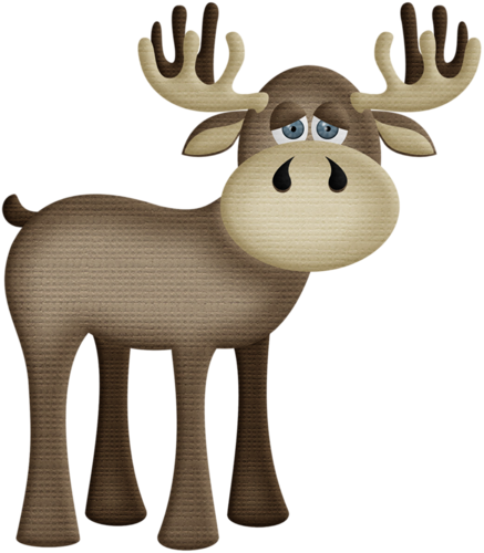 image freeuse Aw woodland png clip. Moose clipart easter.
