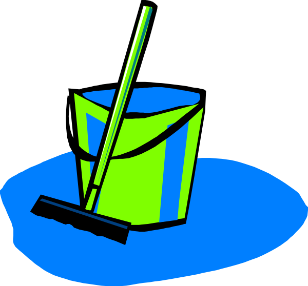 image freeuse And bucket blue clip. Clipart mop.