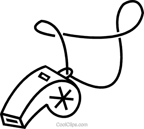 picture royalty free Whistle Clipart Black And White