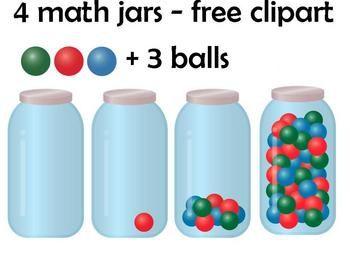 clip art download Free math jars a. More clipart
