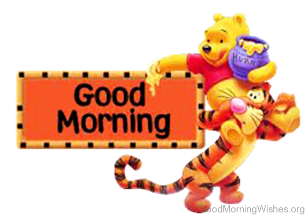 png transparent stock Waking clipart good morning.  clip art wishes