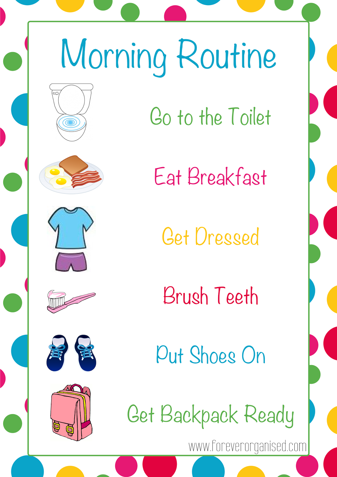 clip freeuse stock Free download clip art. Morning routine clipart