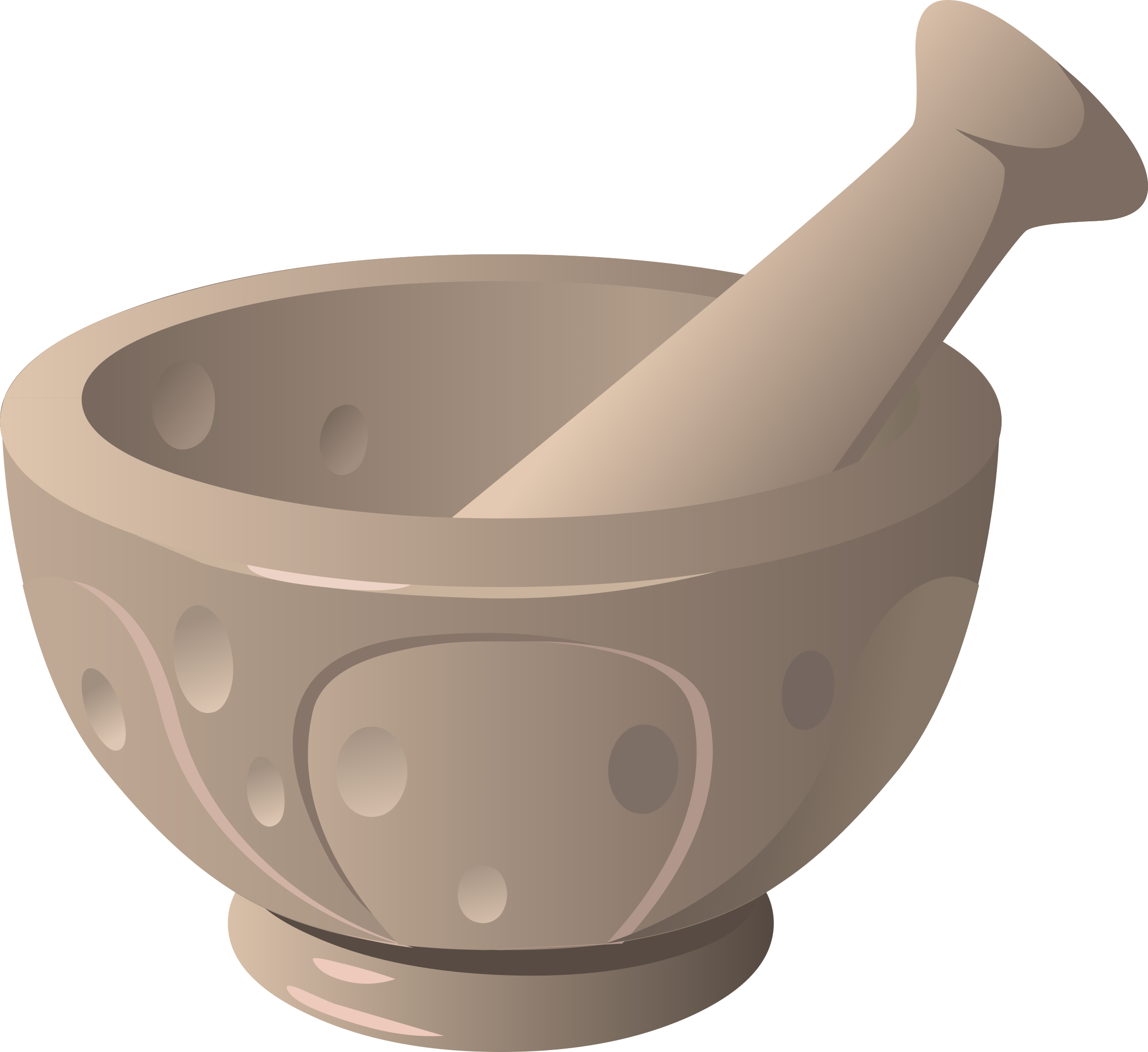svg library stock Mortar and pestle clipart. Tools big image png.