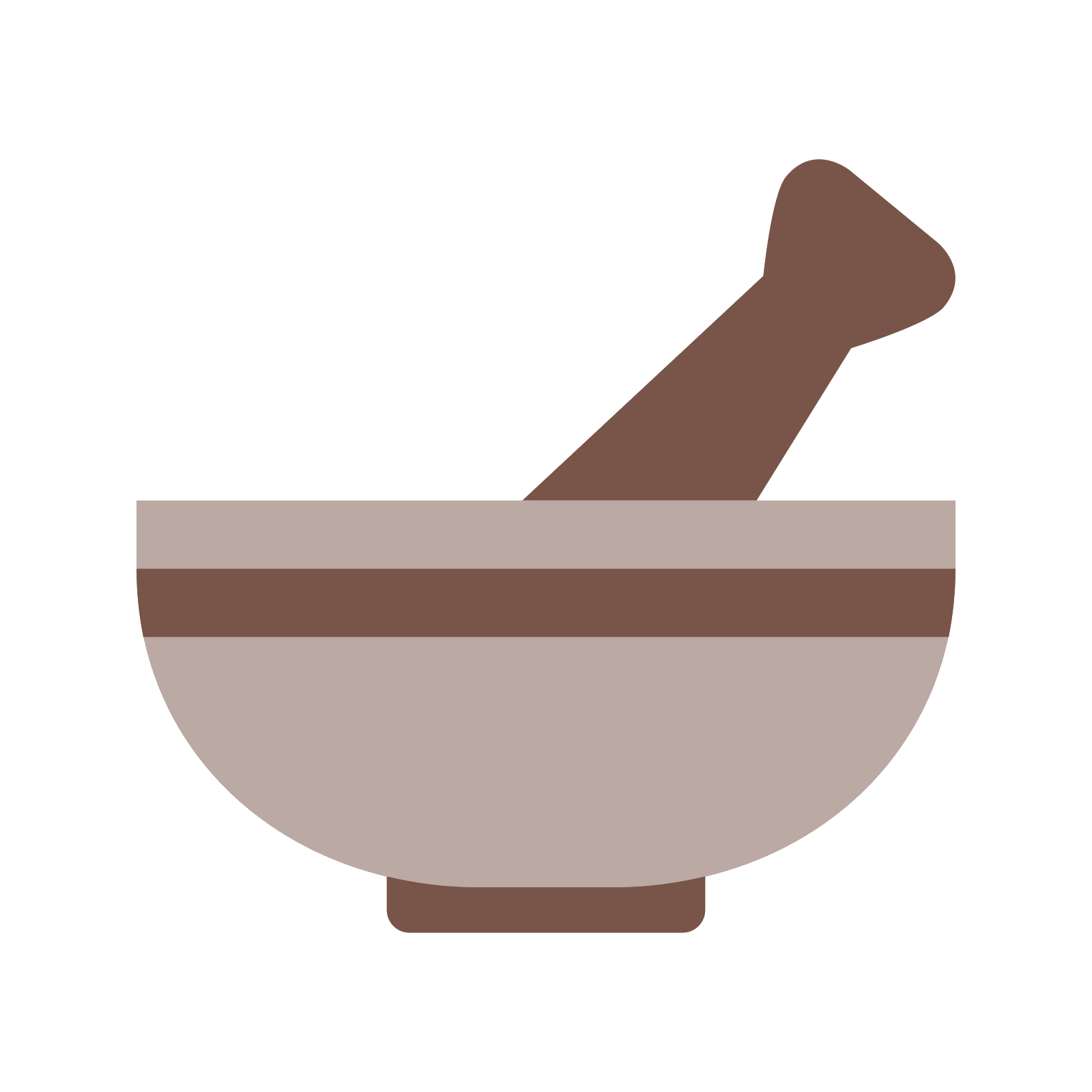 clipart black and white stock Icon kostenloser download png. Mortar and pestle clipart ayurveda symbol.