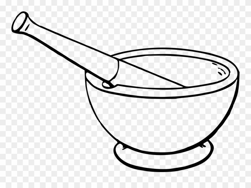 svg freeuse All photo png drawing. Mortar and pestle clipart cartoon.
