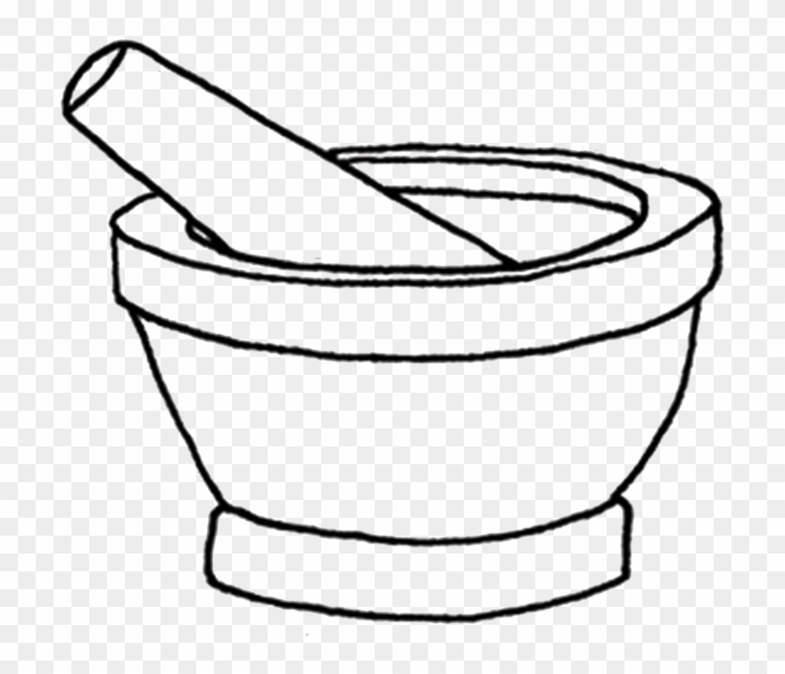 transparent library Mortar and pestle clipart cartoon. Picture drawing .