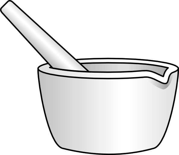vector transparent library Mortar and pestle clipart cartoon. With clip art at.