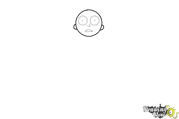 picture black and white download How to draw rick. Morty drawing