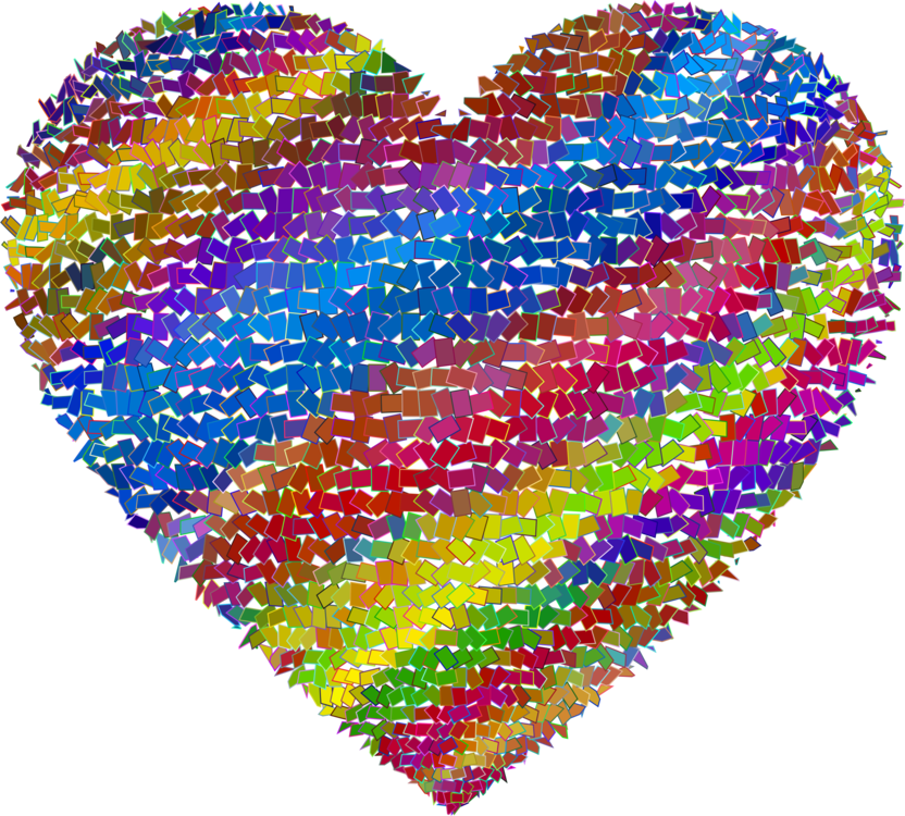 clipart library Mosaic drawing. Heart computer icons tile