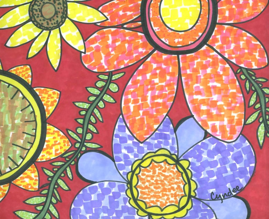 free library Invoke spring with a. Mosaic drawing