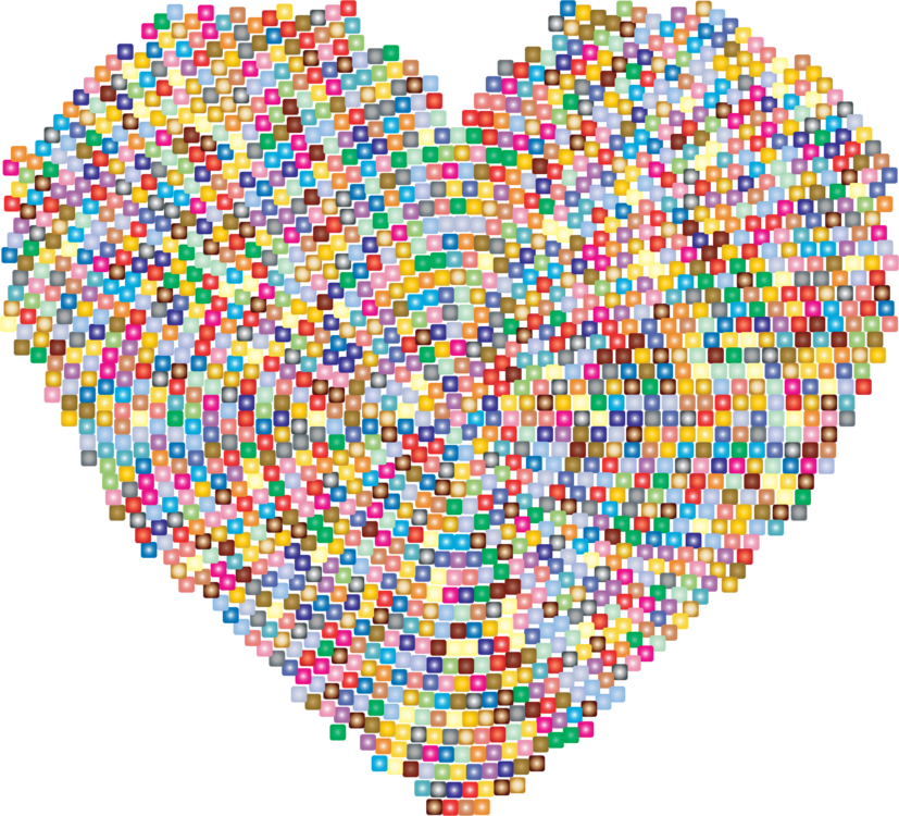 clip library download Heart Mosaic Drawing Computer Icons free commercial clipart