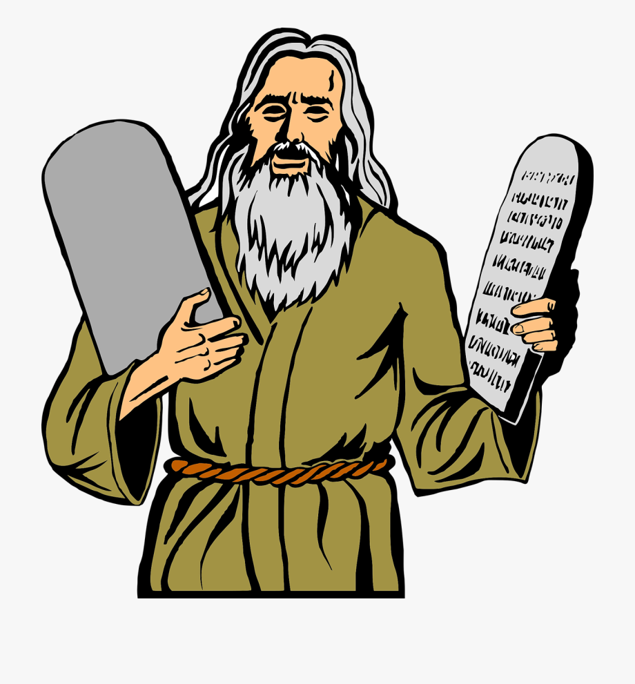 clip art transparent download Religion christianity free picture. Moses clipart