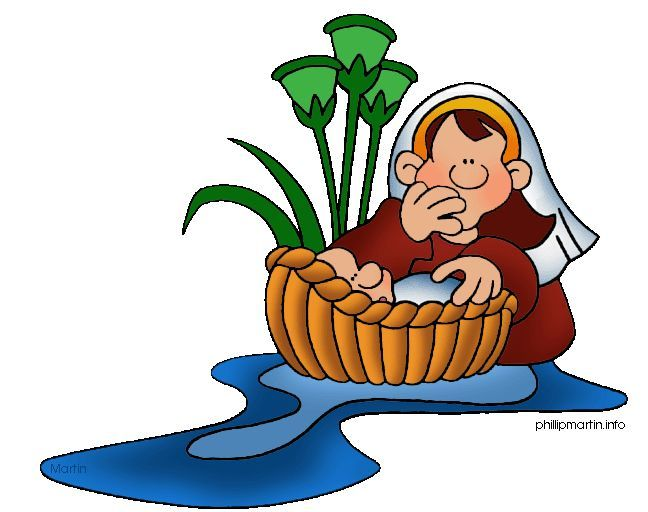 picture library library Moses clipart. Clip art baby bible