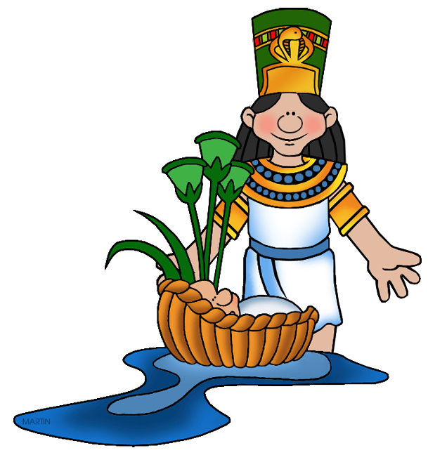 vector library stock Moses clipart. Pharaoh s daughter with
