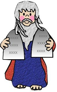 vector freeuse Moses clipart bible lesson. Faith filled freebie sunday.