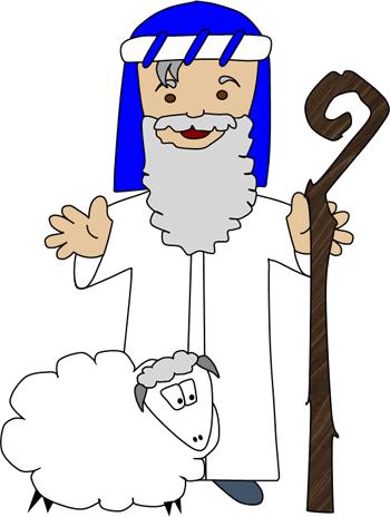 jpg transparent library Moses clipart shepherd. Children s story the.