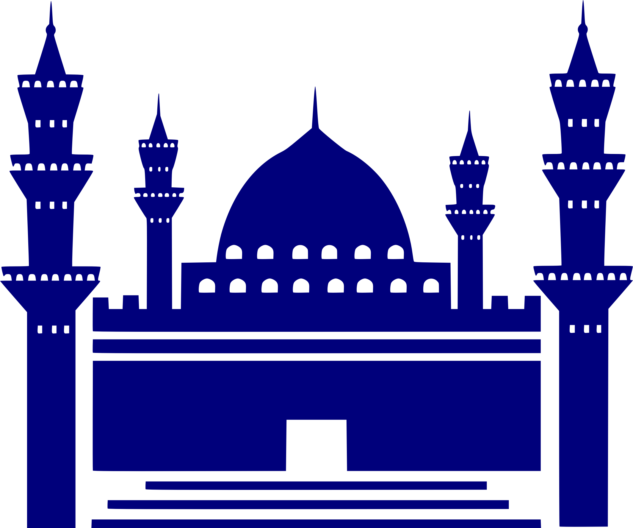 svg royalty free stock . Mosque clipart