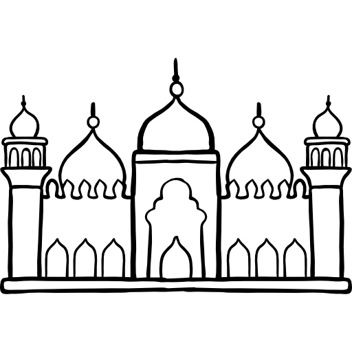 graphic black and white stock Mosque clipart child colour. Drawing at getdrawings com.