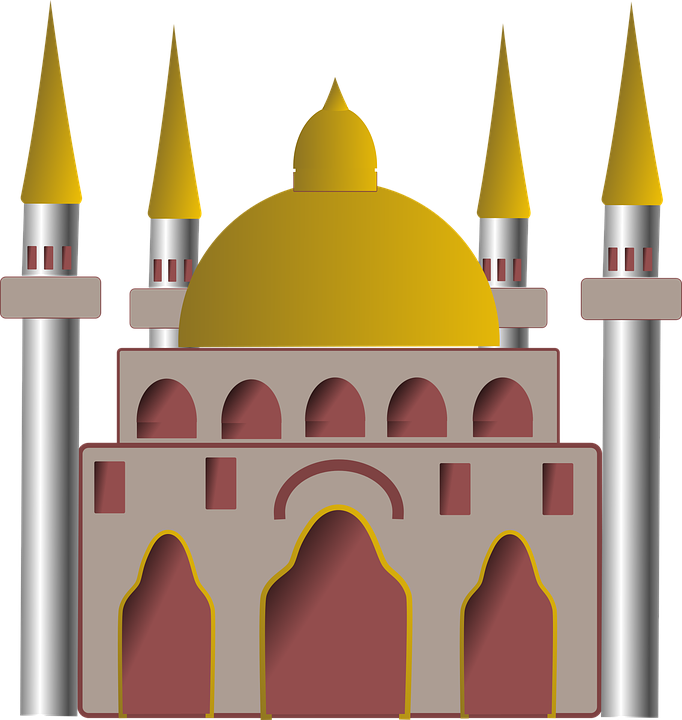 svg royalty free library Mosque clipart sharif ajmer. Building frames illustrations hd.