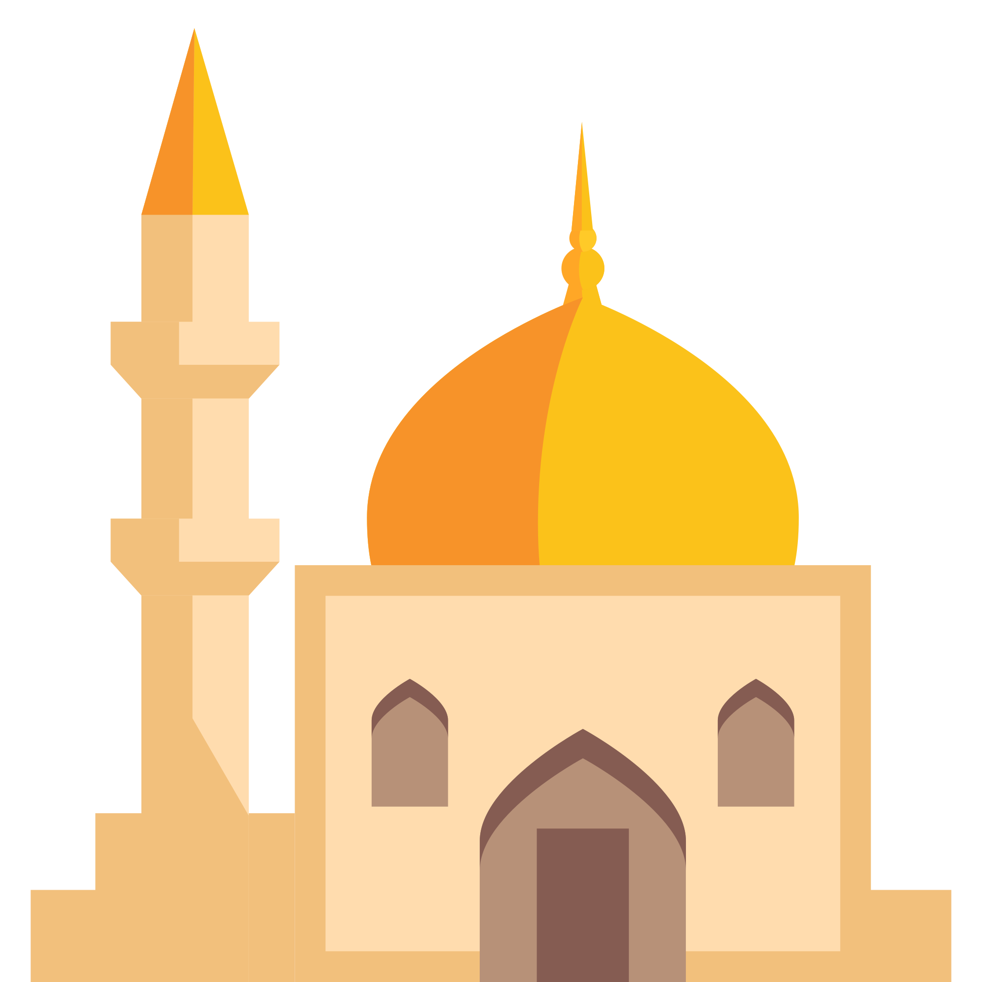 png royalty free download mosque vector yellow #100017049
