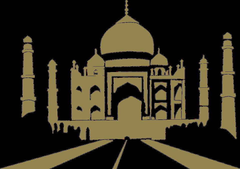svg free download Mosque clipart transparent background. Hq taj mahal png.