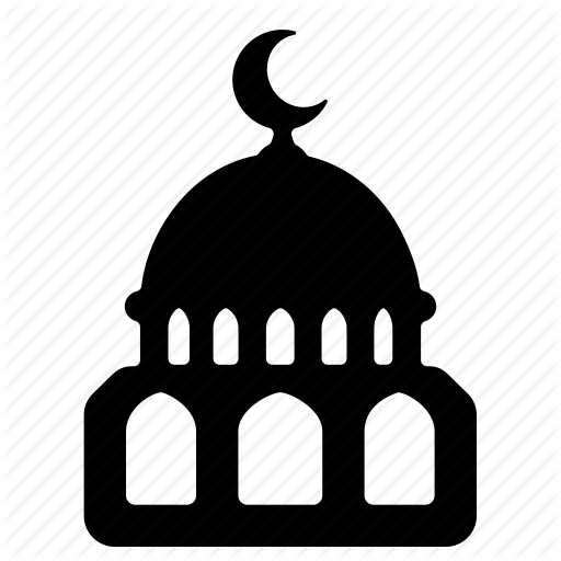 clip art black and white library Mosque clipart transparent background. Png pictures free icons.