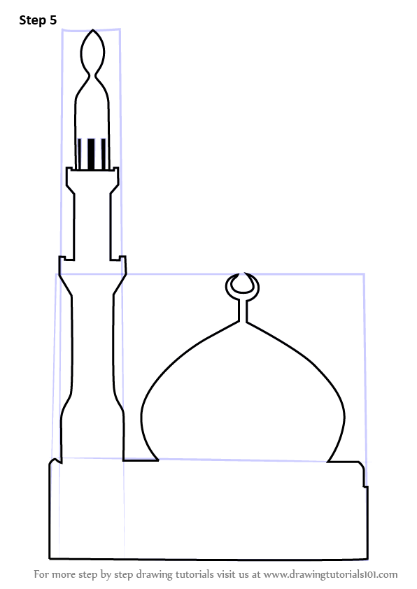 picture library download Learn How to Draw a Simple Mosque